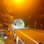 夜の城下トンネル