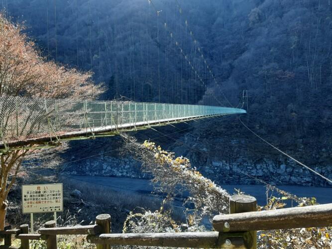 秩父湖吊り橋