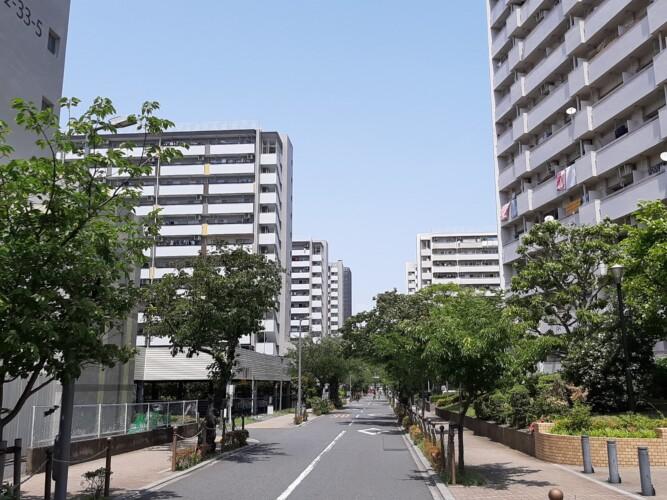 高島平団地