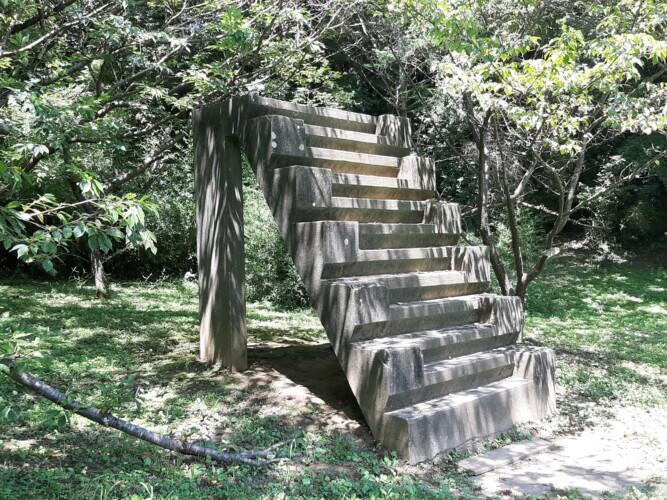 佐倉城の12階段